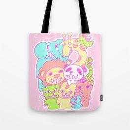 Smirking animals Tote Bag