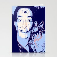 dali Stationery Cards featuring Dali  by Danie Enriquez