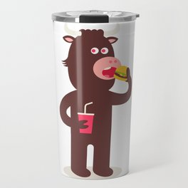 bully beefy bovine time Travel Mug