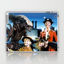 Alien in Mary Poppins Laptop & iPad Skin