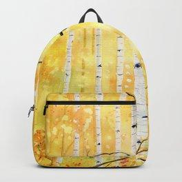 Autumn Birch Backpack