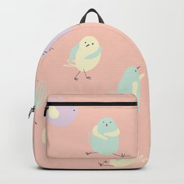 Pastel Pigeons Backpack