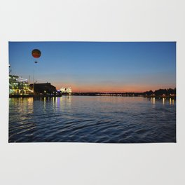 Downtown Disney Sunset I Rug
