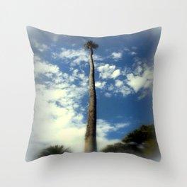 Washington Palm Tree Throw Pillow