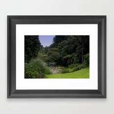 Heligan Gardens 3/4 Framed Art Print