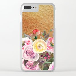 Flowers bouquet #43 Clear iPhone Case