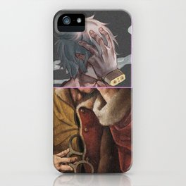 My Hero Academy Tomura Shigaraki x Classical Art iPhone Case