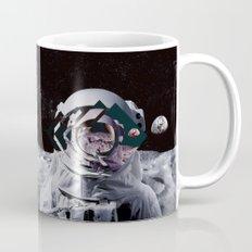 Spaceman oh spaceman, come rescue me (teal) Mug