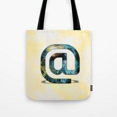 At Sign {@} Series - Silom Typeface Tote Bag