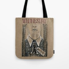 Wednesday Addams (DRAWLLOWEEN 2/31) Tote Bag
