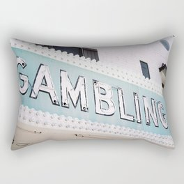 Gambler Rectangular Pillow