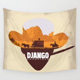 Django Unchained Wall Tapestry