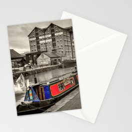 Gloucester docks barge Stationery Cards