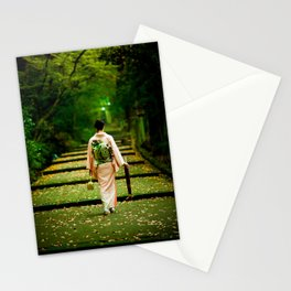 Nature and delicate Japanese culture Stationery Cards