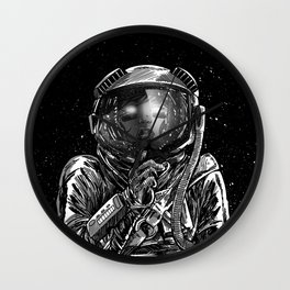 The Secrets of Space Wall Clock