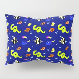 Sleeping with the fishes Pillow Sham