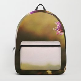Macro Flower in the sunset, Backpack