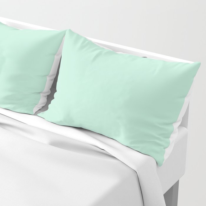 Mint Green Pillow Sham