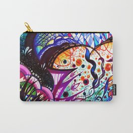 Water Color Forest Carry-All Pouch
