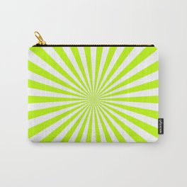 Starburst (Lime/White) Carry-All Pouch