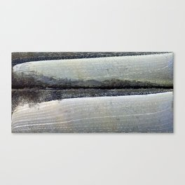 obliterated waveform Canvas Print