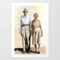 Cuople Art Print