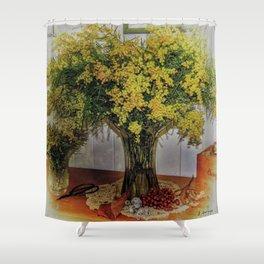 Wattle Bouquet Shower Curtain