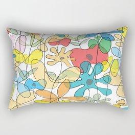 Flowerline Rectangular Pillow