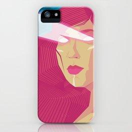 Lasser Mamma iPhone Case