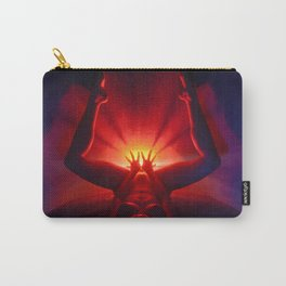 0253-MAK Birthing the Universe a Feminine Power Photograph by Chris Maher Carry-All Pouch