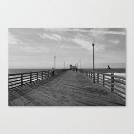 OCEANSIDE BEACH Canvas Print