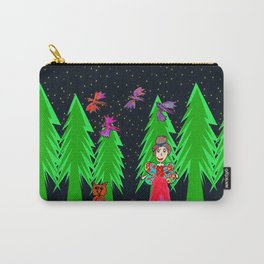 Night Fairy | Before Christmas | Kids Painting Carry-All Pouch
