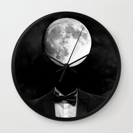 moon man Wall Clock