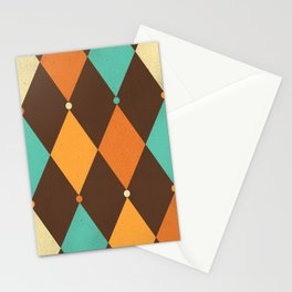Circus Pattern #3 Stationery Cards