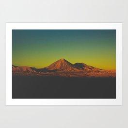 Sunset on Mars (San Pedro de Atacama, Chile) Art Print