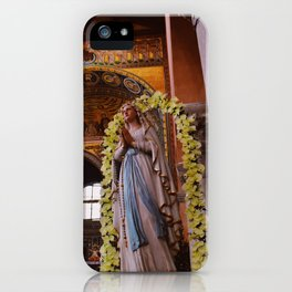 Holy Mary iPhone Case