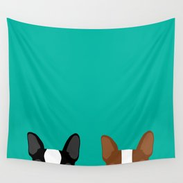 Boston Terriers Wall Tapestry