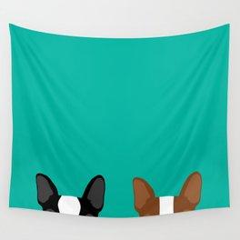 Boston Terriers Wandbehang