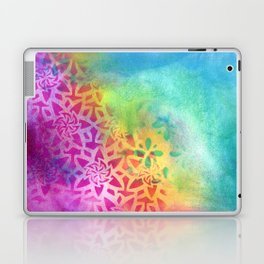 Between the pink and the blue Laptop & iPad Skin