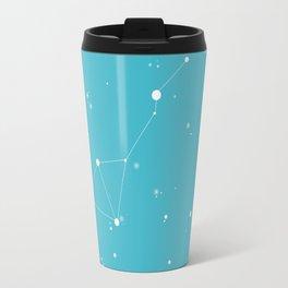 Teal Night Sky Travel Mug