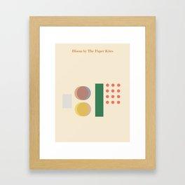 Bloom // The Paper Kites Framed Art Print