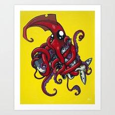 Hug Art Print
