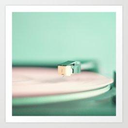 Soft Record Art Print