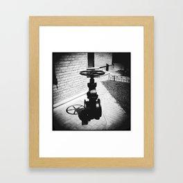 Water museum  [Scene 4] Framed Art Print