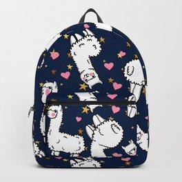 cute alpacas Backpack