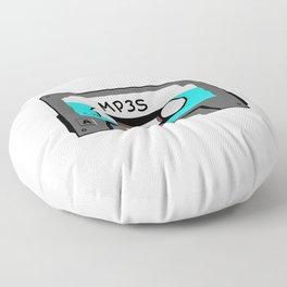 Mixtape MP3s Floor Pillow