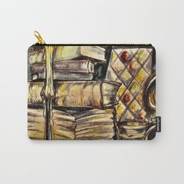 Candles, books and mead Carry-All Pouch