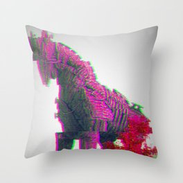 Trojan Horse Throw Pillow