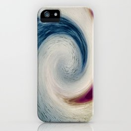 Kicking The Wave iPhone Case