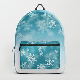 Falling Snowflakes Backpack